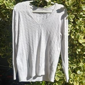 Old navy white long sleeve.